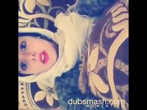 سعودية  جميلة  ترقص و تقلد الاصوات بيجنن روعة #كيك سعودي