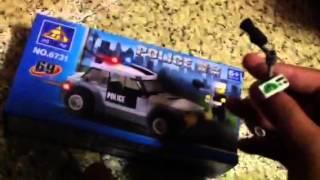 Fake Lego city Police (set Number 6731)