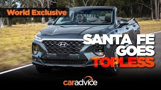EXCLUSIVE: 2019 Hyundai Santa Fe Cabriolet Review