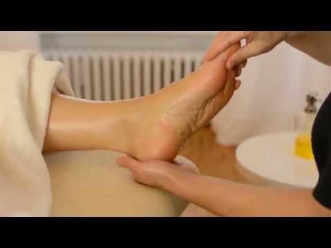 Relaxing Foot Massage, ASMR - No Talking