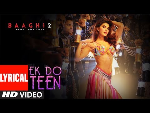 Xxx Mp4 Ek Do Teen Lyrical Baaghi 2 Jacqueline F Tiger S Disha P Ahmed K Sajid Nadiadwala Shreya G 3gp Sex