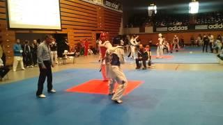 TKD Taekwondo German Open 2012 Hamburg -87 - Florian Meyer - 2nd Fight