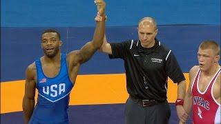 Olympic Wrestling Trials | Andrew Howe vs Jordan Burroughs, Match 2 | Full Match
