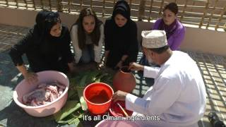 MAGGI Diaries:Oman Episode 12-The Traditional Oman Shawa يوميات ماجي :  الشوا العماني