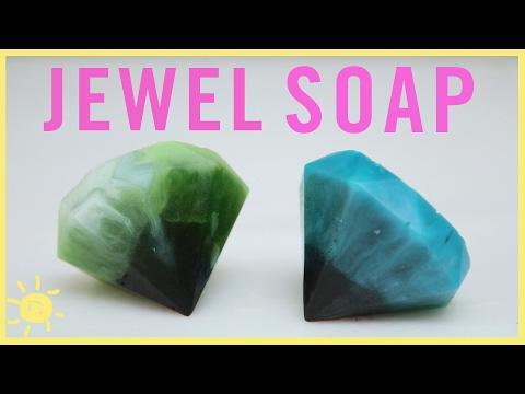 DIY | Gemstone Soap