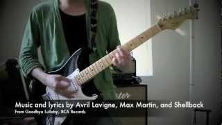Avril Lavigne - Smile Guitar Cover