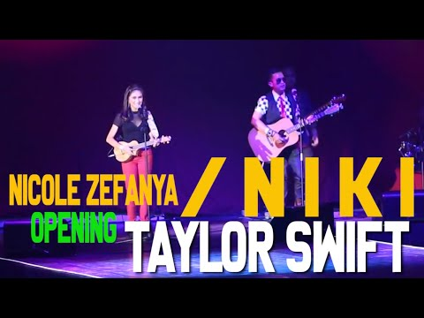 Nicole Zefanya (Niki) & Stan Isakh - Opening for Taylor Swift Red Tour Concert Indonesia