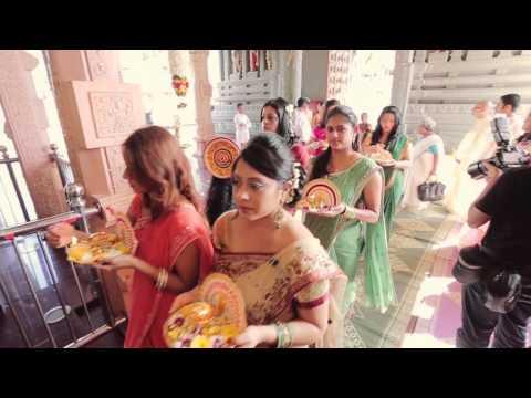 Malayalee Wedding Highlights of Bavya & Milind