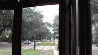 New Orleans Streetcar Ride On The St. Charles Line  Part 3