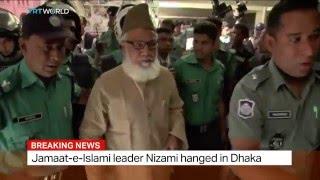 Jamaat-e-Islami leader Nizami hanged in Dhaka