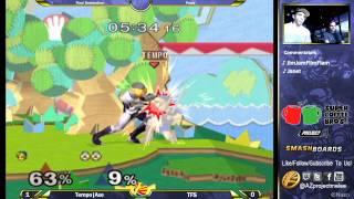 FD Melee: Tempo|Axe (Young Link) vs TFS (Sheik) Pools