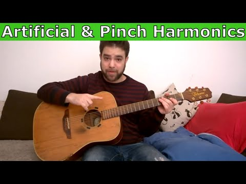 How to Play (And Use) Artificial & Pinch Harmonics - Guitar Lesson Tutorial