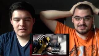 Reaction: Death Battle: Wolverine VS Raiden