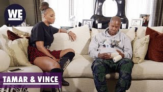 Vince Talks About the Car Accident | Tamar & Vince | WE tv