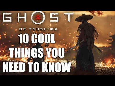 Ghost of Tsushima – 10 COOL Things You Probably Don t Know