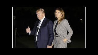 Donald Trump steps in to protect Melania from
