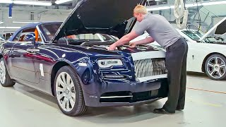 CAR FACTORY: Rolls-Royce Manufacturing Plant