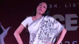 Mock dance by Shobana at GRD college - Face to Face - actress Sobhana