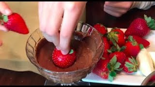 How To Chocolate Covered Strawberries Valentine Day For Kids Learning Colors Street Vehicles