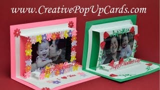 Mother's Day Photo Frame Pop Up Card