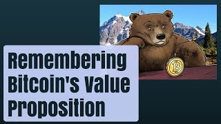 Remembering Bitcoin's Value Proposition During Bear Markets