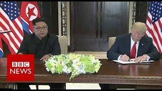 Trump Kim summit: US and North Korean leaders hold historic talks