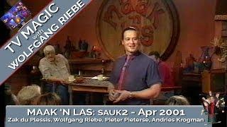 Maak 'n Las; April 2001 met Wolfgang Riebe met Kook insetsel