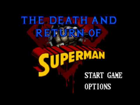The Death and Return of Superman SNES Music - Trouble in Metropolis