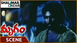 Mrugam Movie || Aadhi Pinisetty Misbehaving With Begger || Aadhi Pinisetty || Shalimarcinema