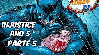 INJUSTICE Año 5 parte 5 Batman Vs SuperMan comic narrado @SoyComicsTj