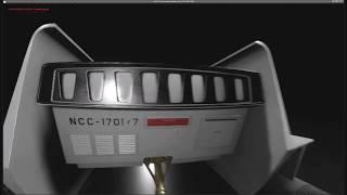 Inside the Class-F Shuttlecraft