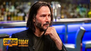 Keanu Reeves Talks Filming 'John Wick 3' Fight Scenes, Almost Changing His Name, More | Sunday TODAY