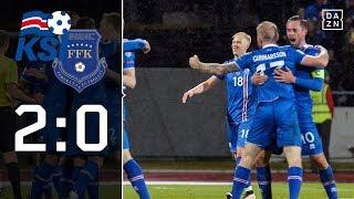 Erste isländische Qualifikation der Geschichte: Island - Kosovo 2:0   Highlights   WM-Quali   DAZN