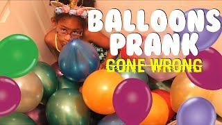 BIRTHDAY BALLOONS PRANK GONE WRONG My Parents Pranked Me! KJ TAKEOVER