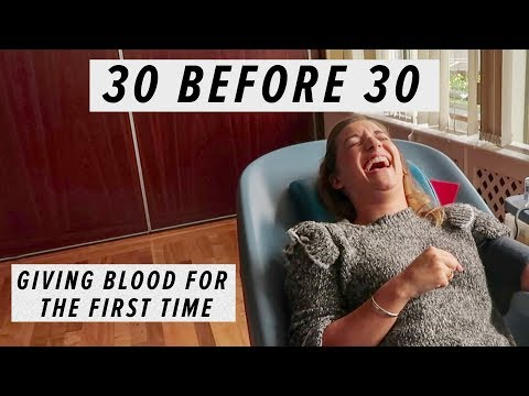 Xxx Mp4 GIVING BLOOD FOR THE FIRST TIME 30 BEFORE 30 EPISODE 3 3gp Sex