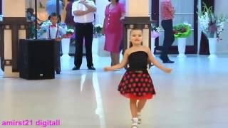 رقص با حال دختر و پسر کوچلو