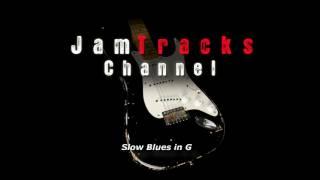 Slow Blues in G Backing Track - JamTracksChannel -