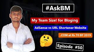 AskBM Episode 50 - My Team Size!   Amazon Affiliate Blog Image   Digitalocean and more