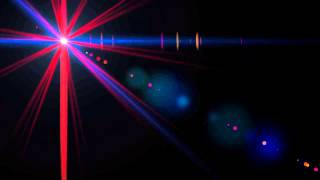 ▶ Red & Blue 'Police' Lens Flare Clip