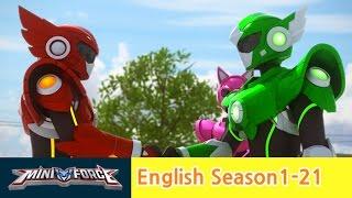 [English ver.dub ]MINIFORCE Season1 Ep21: Destined Rivals