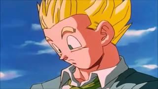 Goku vs Baby Gohan and Baby Goten