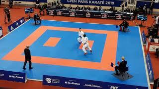 Paris Karate Open 2019 - Kumite Final - Rafael Aghayev vs Ken Nishimura