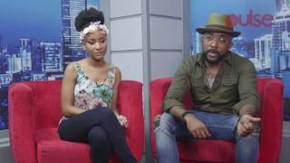 Banky W, Adesua Etomi Talks About Their Chemistry in 'The Wedding Party'| Pulse TV