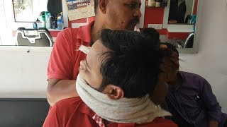 ASMR Head Massage with Cracking by The Boss