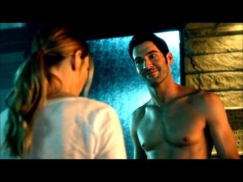 """""""I'm a police officer and you… are naked"""" - Lucifer (1x04) - {Bright version 720p}"""