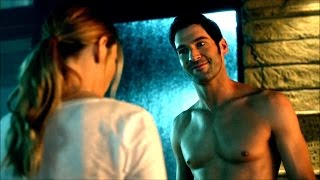 """I'm a police officer and you… are naked"" - Lucifer (1x04) - {Bright version 720p}"