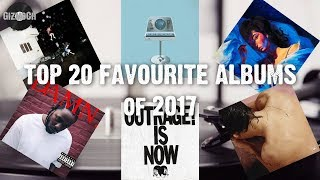 Top 20 Favourite Albums of 2017 | GizmoCh
