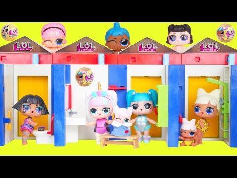Xxx Mp4 LOL Surprise Dolls Lil Sisters In Playmobil Pool Dress Room 3gp Sex