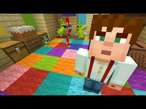 Minecraft Xbox - My Story Mode House - Parrot Party!