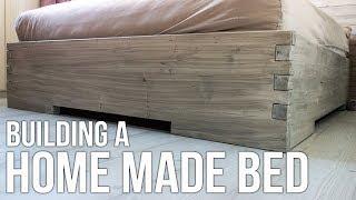 Building a homemade bed / Hjemmelaget seng